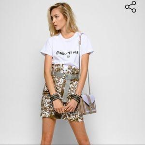PINKO Camouflage Skirt